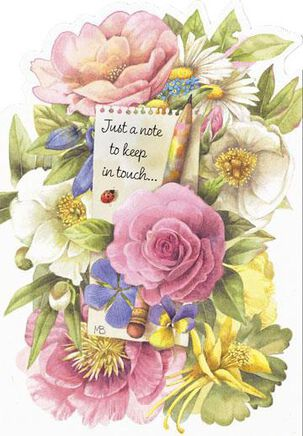 Marjolein Bastin Floral Friendship Card