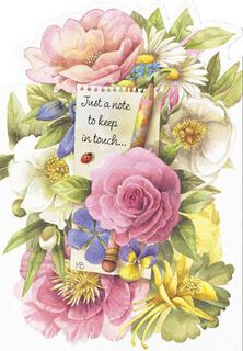 Marjolein Bastin Floral Friendship Card,