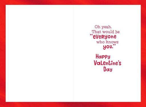 Who Loves You? Mickey Mouse Valentine's Day Card,