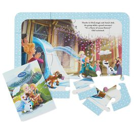 Disney Frozen Mystery Puzzle Book, , large
