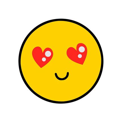 heart eyes emoji love card greeting cards hallmark