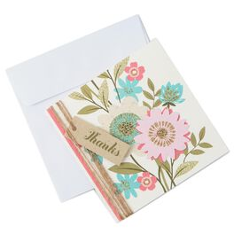 Floral Garden Thank You Notes, Pack of 8, , large