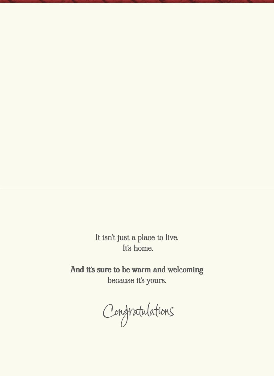 Welcome Mat New Home Congratulations Card Greeting Cards Hallmark