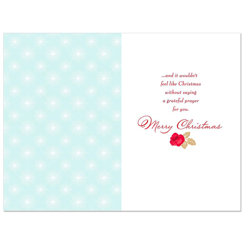 You Ve Blessed My Life Christmas Card For Godmother Greeting Cards