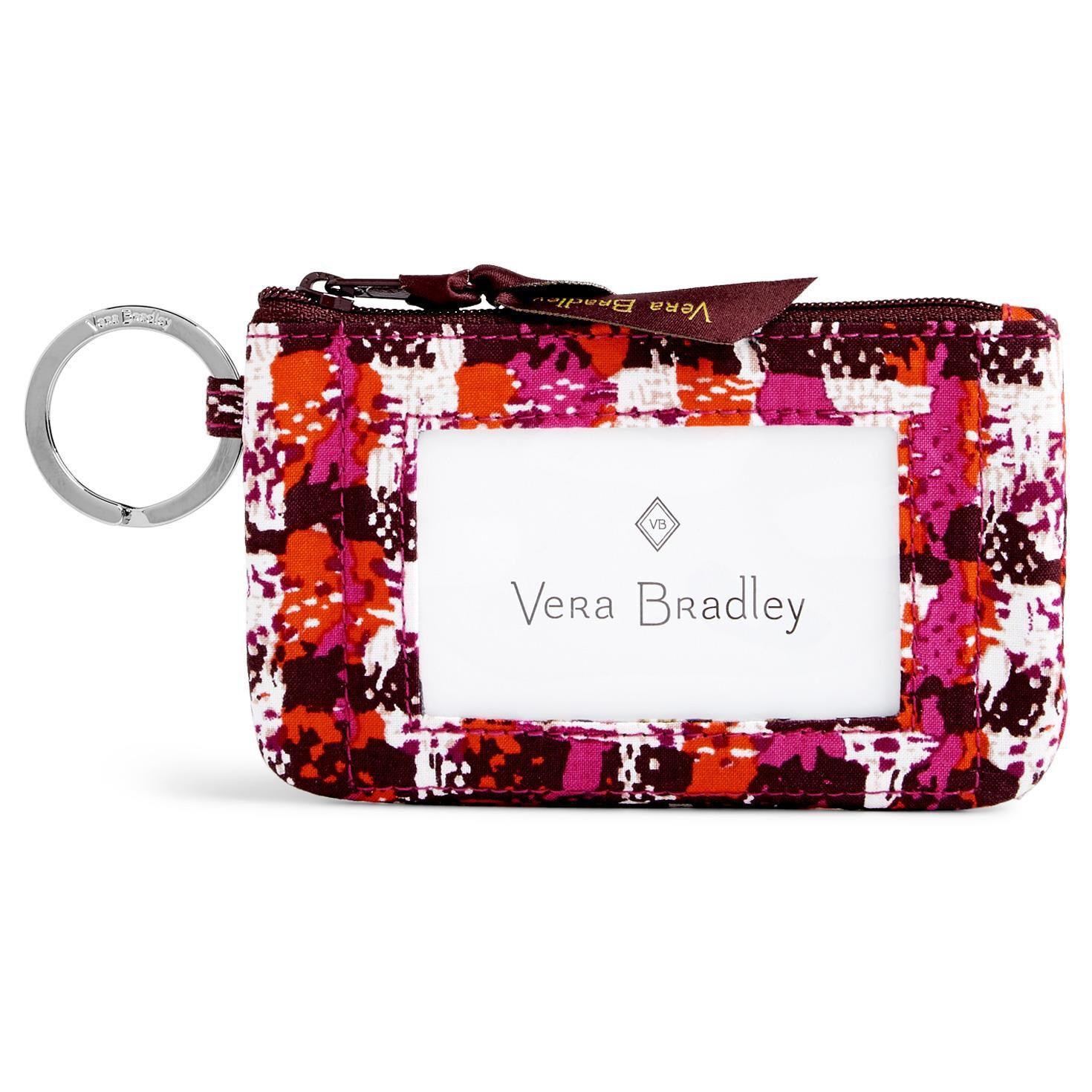 Vera Bradley Zip ID Case in Houndstooth Tweed - Handbags & Purses ...