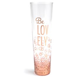 Be Lovely Stemless Champagne Flute, , large