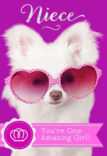 Sassy Spirit Birthday Card For Niece