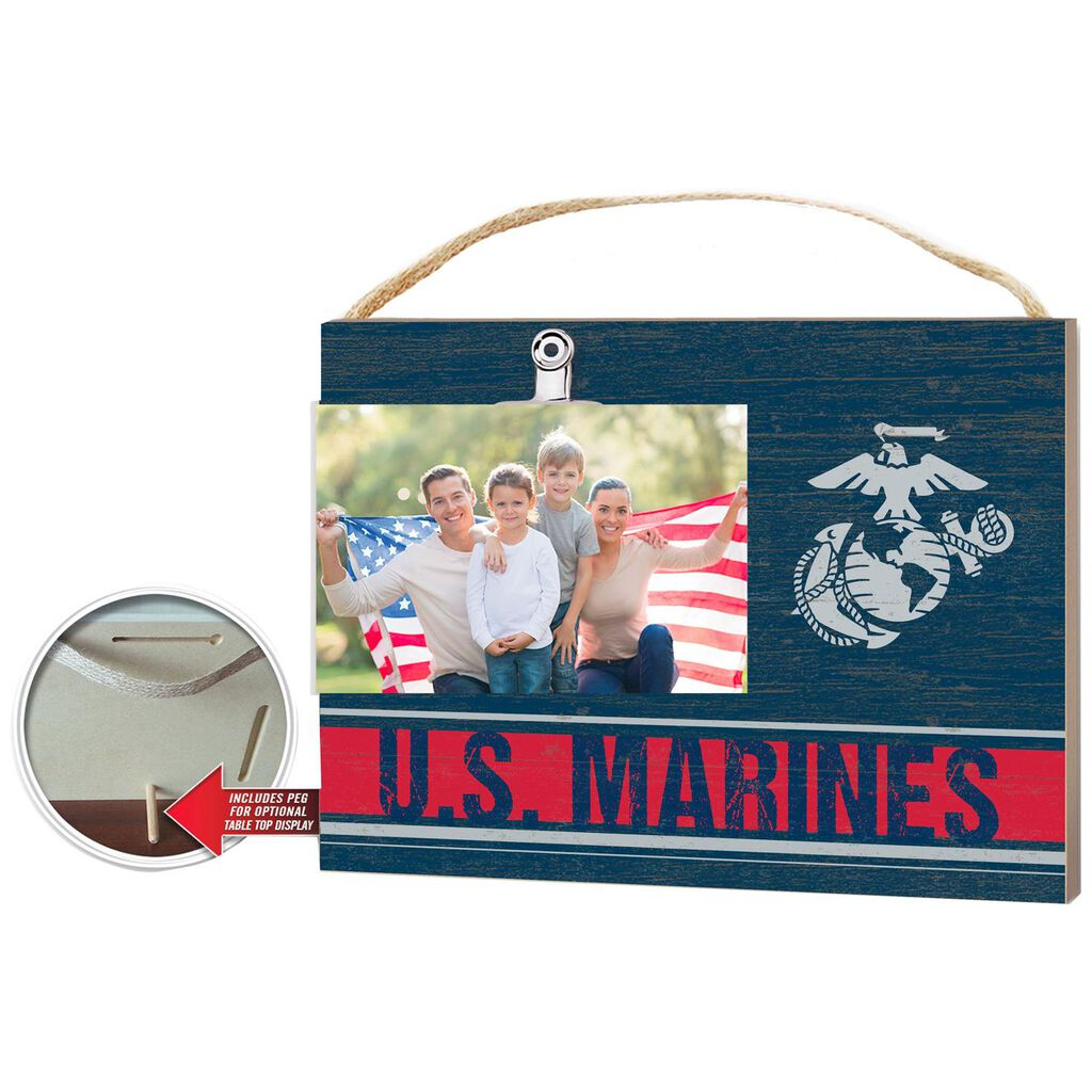 Us Marines Picture Frame Wood Sign 8x10 Picture Frames Hallmark