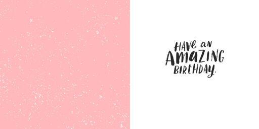 Savor Every Little Thing Birthday Card