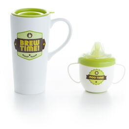 Dad Mug and Baby Cup Set, , large