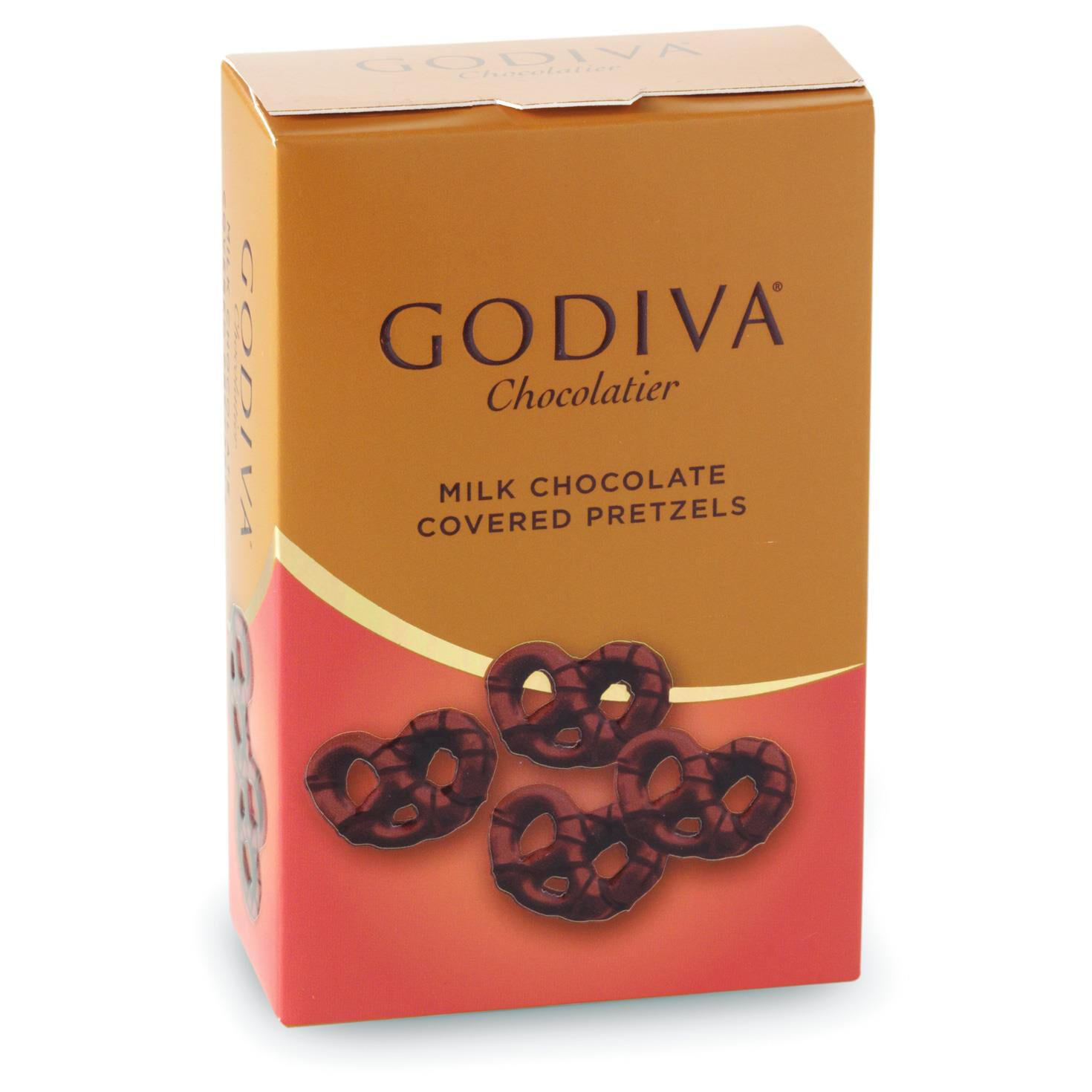 Godiva Chocolatier Milk Chocolate Covered Mini Pretzels - Candy ...