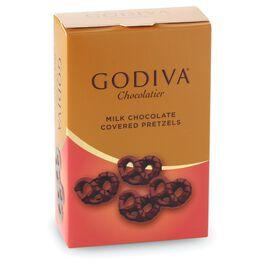 Godiva Chocolatier Milk Chocolate Covered Mini Pretzels, , large