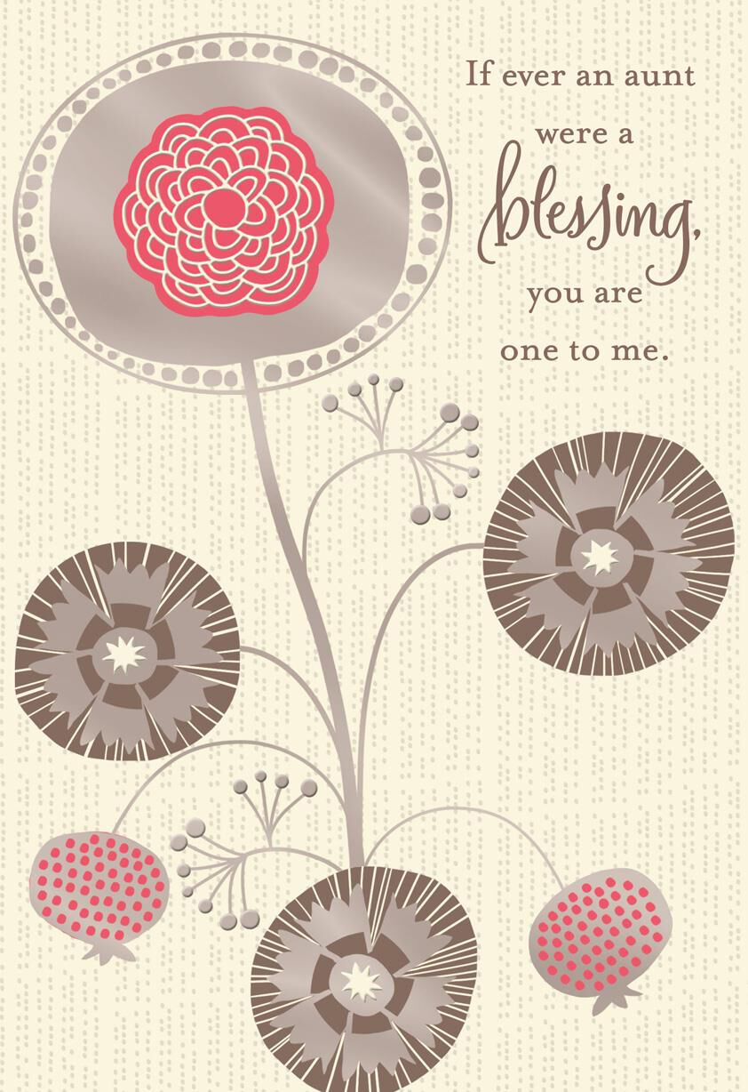 Aunt youre a blessing religious birthday card greeting cards aunt youre a blessing religious birthday card greeting cards hallmark kristyandbryce Image collections