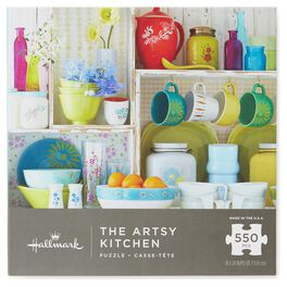 The Artsy Kitchen 550-Piece  Puzzle, , large