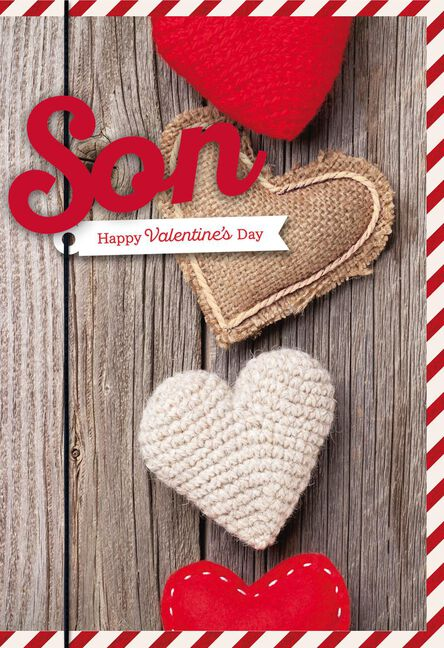 Proud Of You Son Valentine S Day Card From Parents Greeting Cards