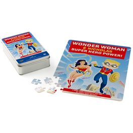WONDER WOMAN™ Super Hero Power Personalized Puzzle and Tin, , large