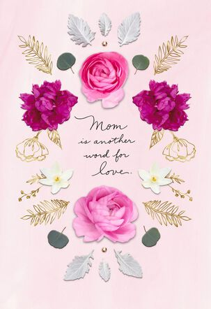 Mom Is Another Word for Love Mother's Day Card