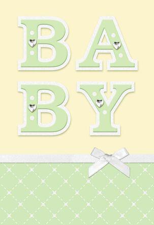 World of Joy New Baby Card