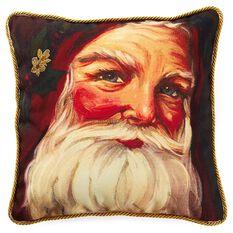 Santa Claus Pillow Pillows Amp Blankets Hallmark