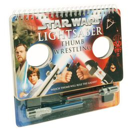 Star Wars Lightsaber Thumb Wrestling Game and Book, , large