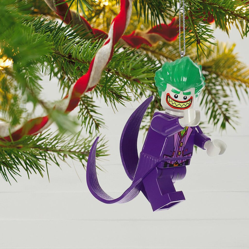 The LEGO® Batman Movie™ The Joker™ Ornament - Keepsake Ornaments ...