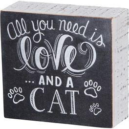 Primitives by Kathy Love & a Cat Chalk Sign, , large