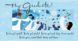 Soul, Pride and Spirit Money Holder Graduation Card