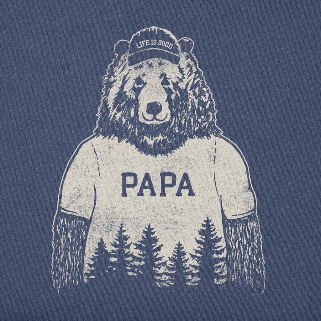28a866e73f8 Life is Good Men s Papa Bear T-Shirt - Clothing - Hallmark