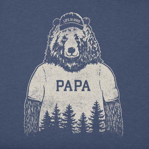 43b743cd692 ... Life is Good Men's Papa Bear T-Shirt,