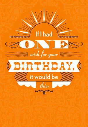 Birthday Wish Funny Birthday Card