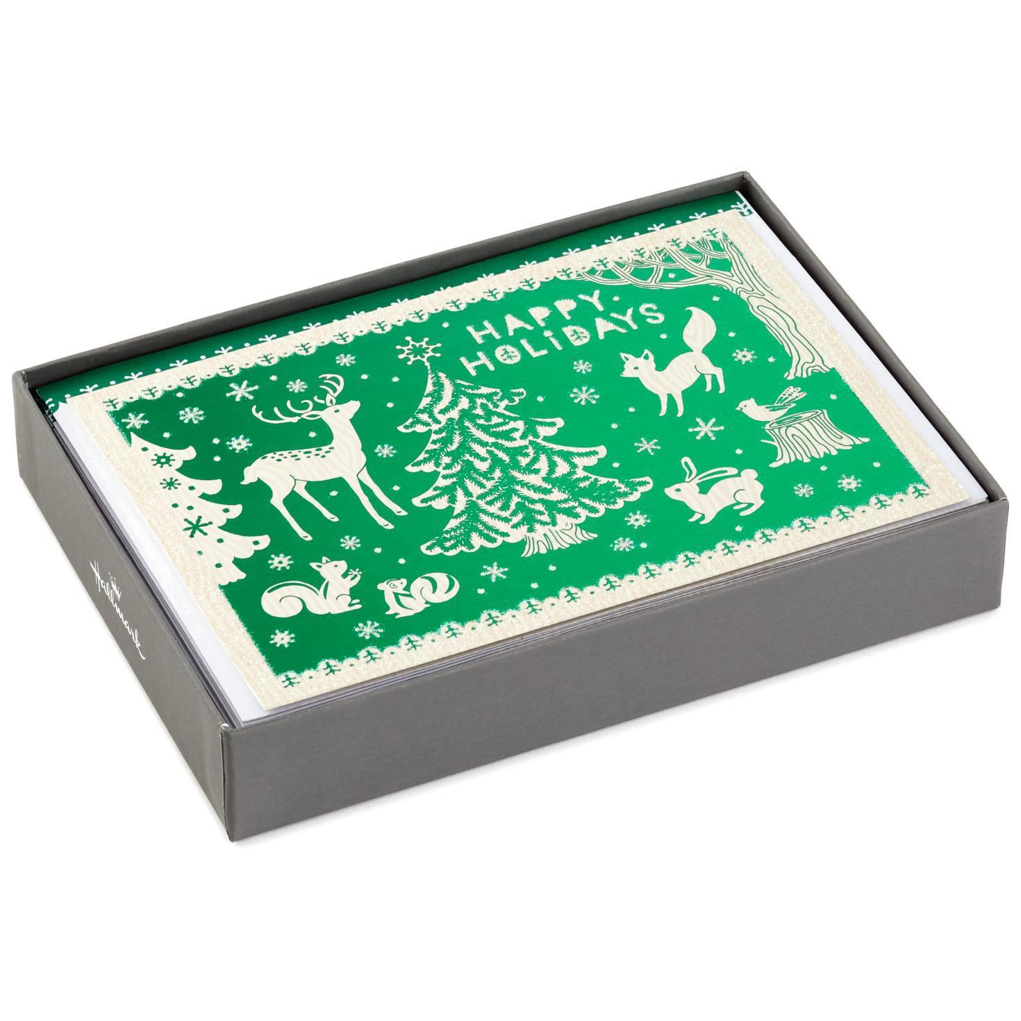 Woodland Creatures Christmas Cards Chrismast Cards Ideas