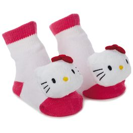 Hello Kitty® itty bittys® Baby Rattle Socks, , large