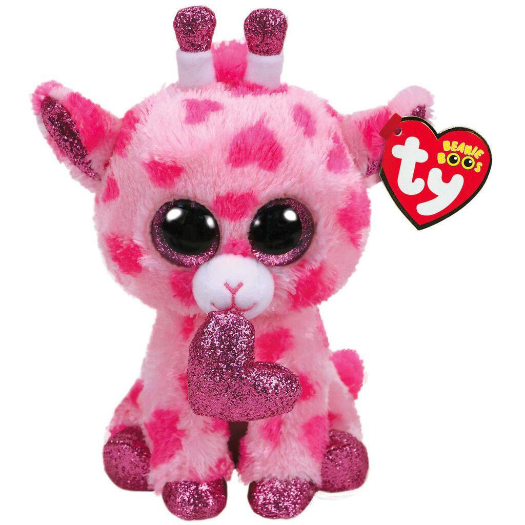 Ty Pink Giraffe Stuffed Animal - Photo Giraffe At The Zoo 51c781233ee4