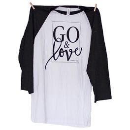 Go & Love Baseball Jersey T-Shirt, , large