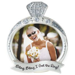 Bling Bling Ring Picture Frame, 3x4, , large
