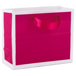 "Raspberry Small Gift Bag, 5.5"", , large"
