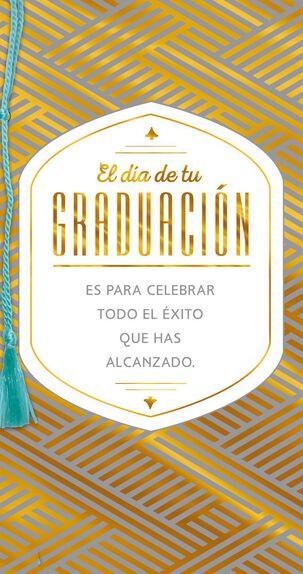 Success and Happiness Spanish-Language Graduation Card