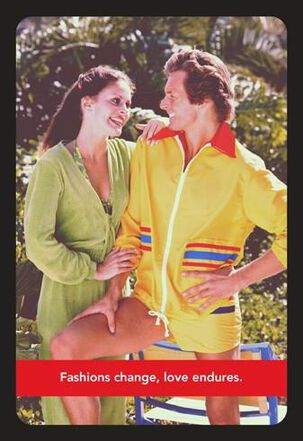 Vintage Workout Couple Funny Anniversary Card