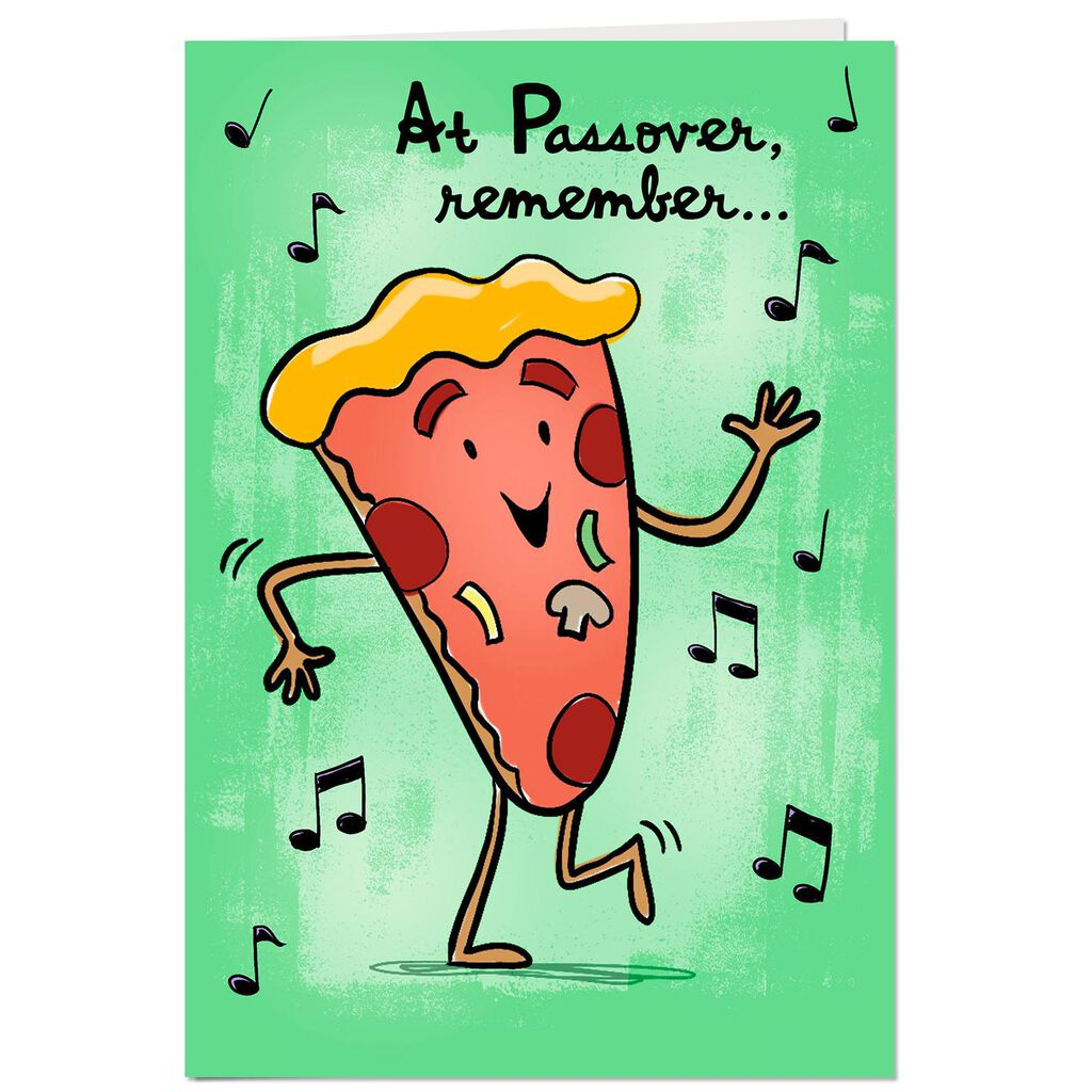 Theres Always Matzah Musical Passover Card Greeting Cards Hallmark