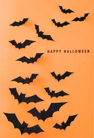 Colony of Bats Halloween Card