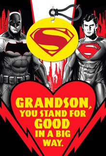 Batman V Superman: Dawn of Justice™ Valentine's Day Card for Grandson,