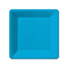 Pebble Blue Dessert Plates, Pack of 6, , large