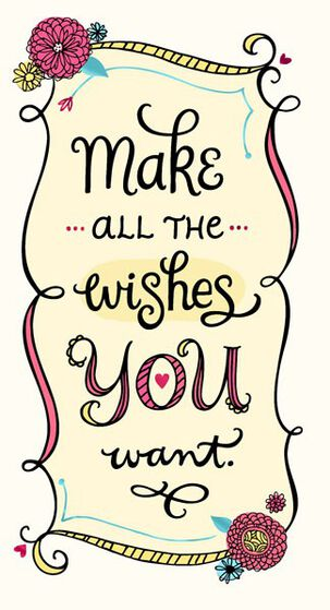 Wish for Love Birthday Card