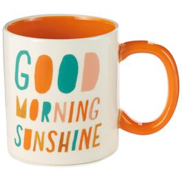 Good Morning Sunshine Ceramic Mug, 12 oz., , large