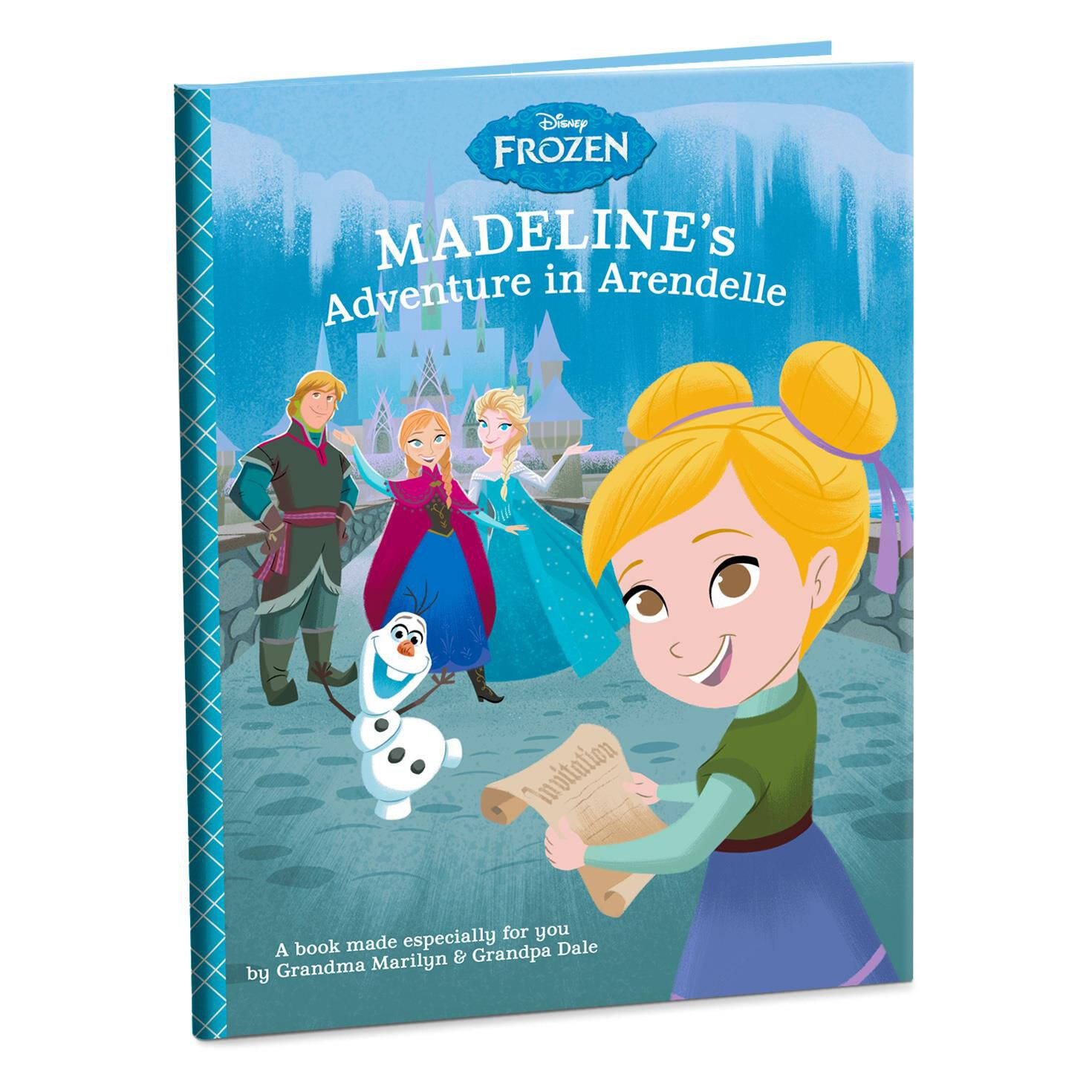 disney frozen adventure in arendelle personalized book
