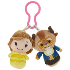 Disney Beauty And The Beast Itty Bittys 174 Clippys Stuffed