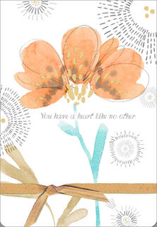 Heart Like No Other Encouragement Card,