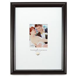 Signature Love Picture Frame with Heart Attachment, 4.5x3.5, , large