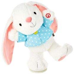Easter basket ideas with faith gifts hallmark ideas inspiration hoppy easter bunny musical stuffed animal with motion 12 negle Image collections
