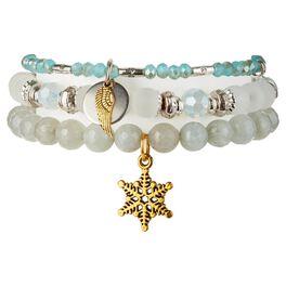 Chavez for Charity Snow Angel Bracelets, Set of 3, , large